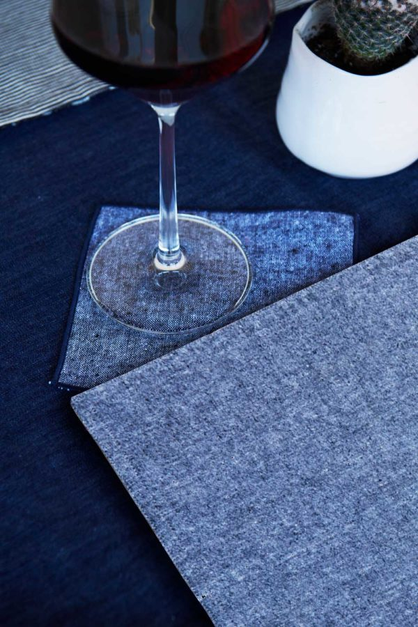 chambray placemat by atelier saucier