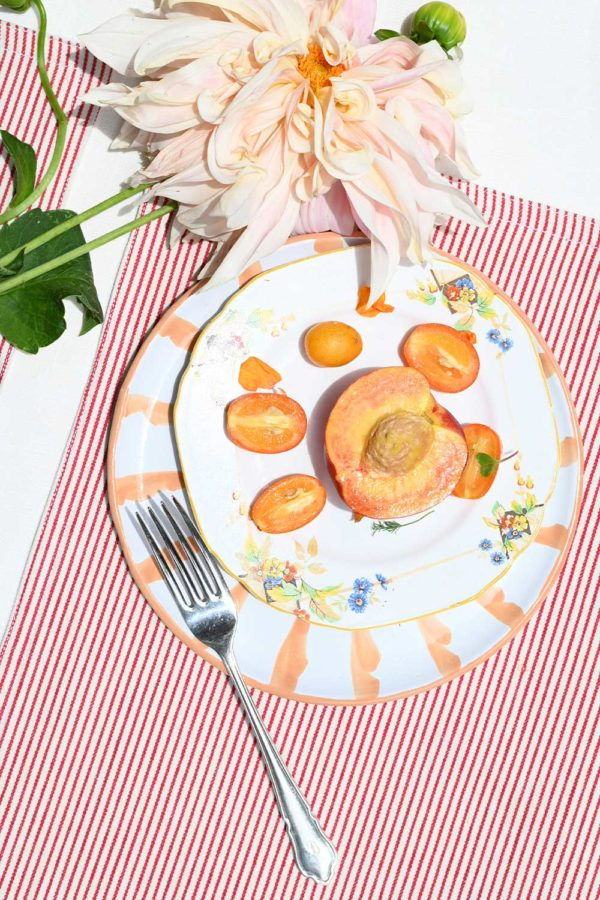 candy stripe reversible placemat from atelier saucier