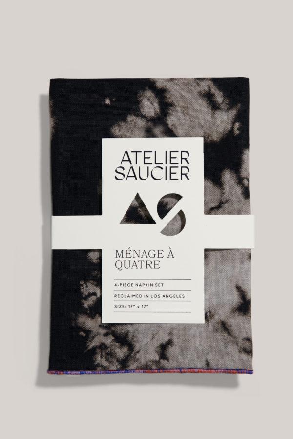 atelier saucier sundown linen napkin set